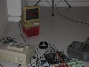 Obsolete computer equipment